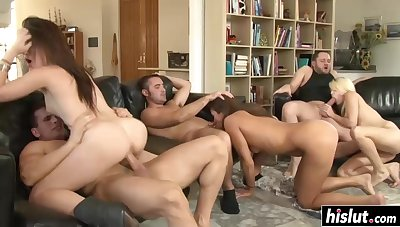 Amazing Babes Get Their Rears Drilled - cece stone
