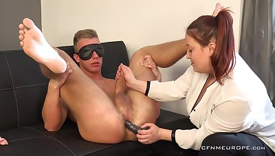 There is nothing better for Kancelarska Ucitelka than office BDSM sex