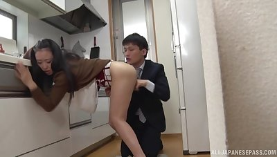 Young boyfriend fucks her for rub-down the first time