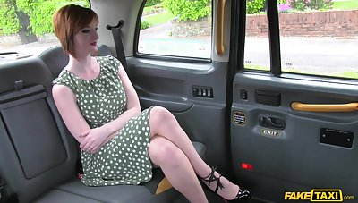 Zara Durose loves with reference to give a titjob with will not hear of big tits in the car