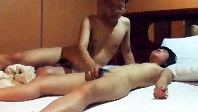 Really Cute Korean GF's motel sex