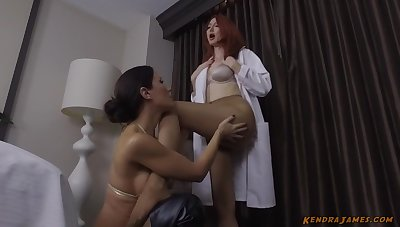 Kendra James and Angela Sommers poofter sex