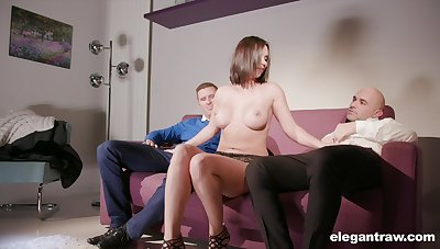 Lovely Alysa Gap gets her perfect butt banged by a handsome dude